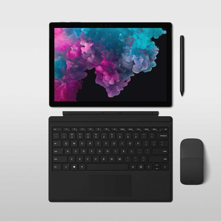 """F Das """"Surface Pro 6"""" ist das neue Top-Tablet von Microsoft."""