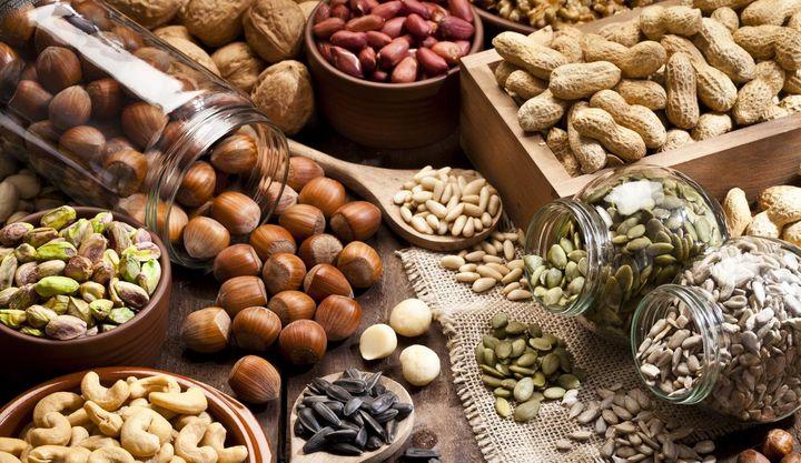 Nüsse sollten in keiner Vorratskammer fehlen.