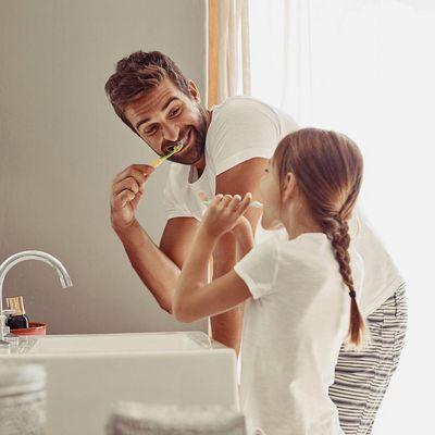Die Tricks, damit die Kleinen gerne putzen