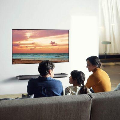 """OLED-Fernseher aus der """"Signature""""-Reihe von LG."""