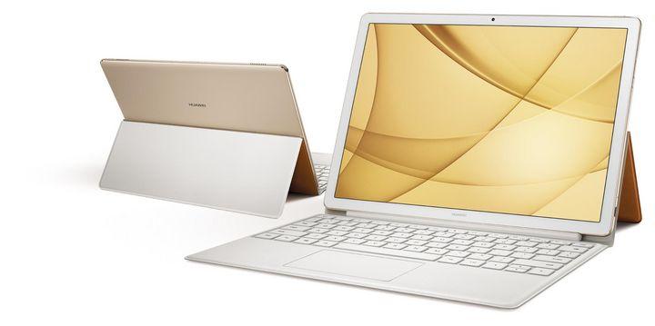 """Neben dem hochwertigen Metall-Gehäuse bekommt das """"MateBook E"""" ein fast randloses 2K-Touch-Display mit besonders großem Blickfeld."""