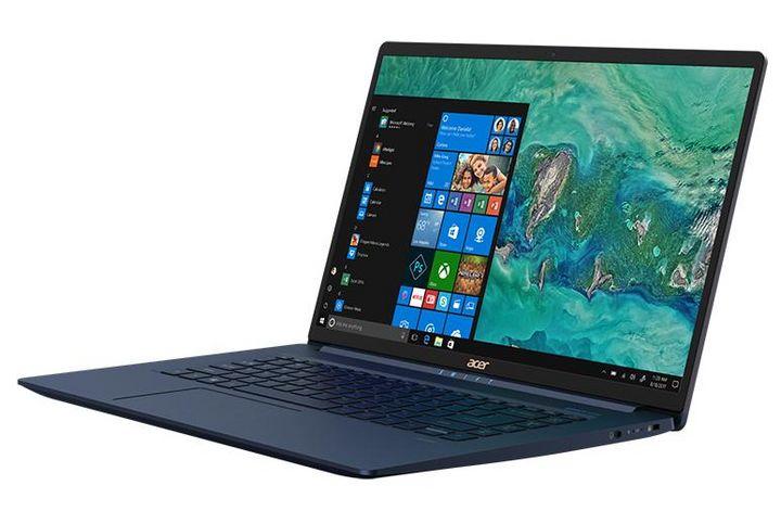 """Das Acer-Notebook """"Swift 5"""" mit 15-Zoll-Display."""