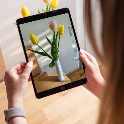 Das iPad Air von Apple im Detailblick.