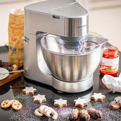 Kenwood Küchenmaschine KM286 Prospero Silber: Alltagstauglicher Küchenhelfer für Süßes und Pikantes.