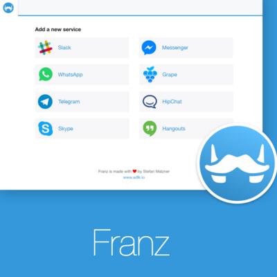 """Die neue App """"Franz"""""""