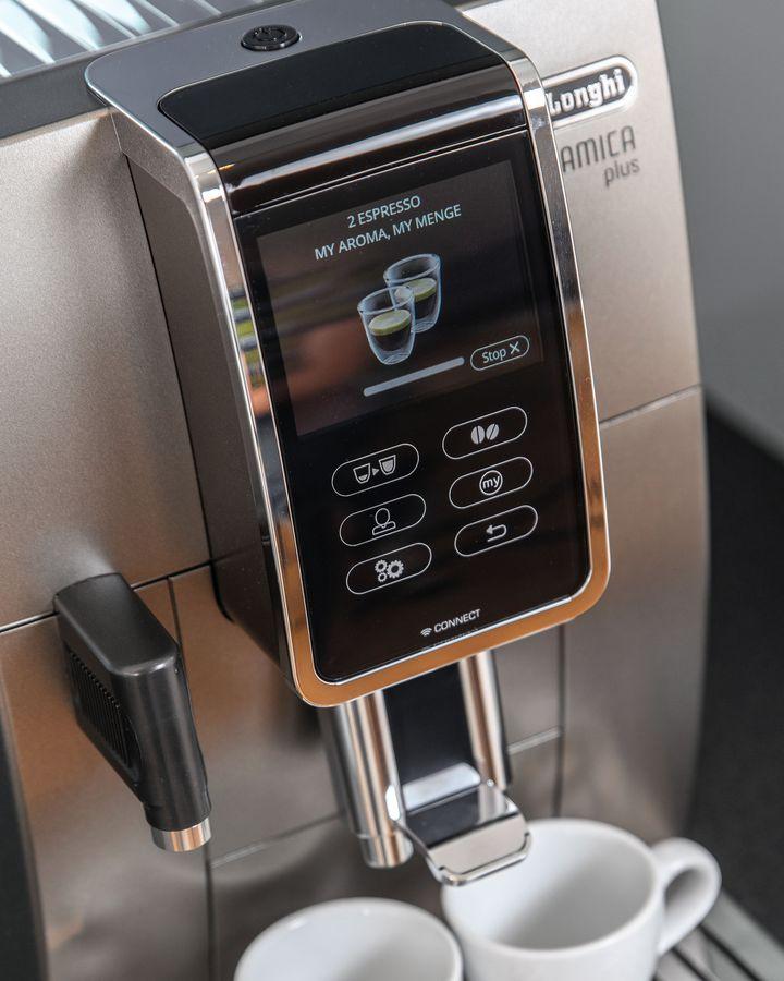"""Mit der """"Kaffeekannen-Funktion"""" können Sie bis zu sechs Tassen auf einmal zubereiten."""