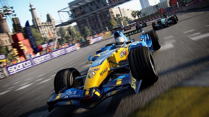 GRID garantiert schnelle Rennen.
