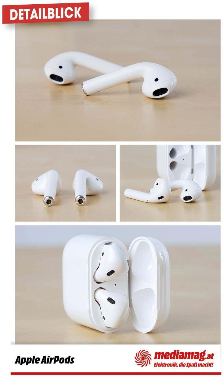 Die AirPods von Apple.
