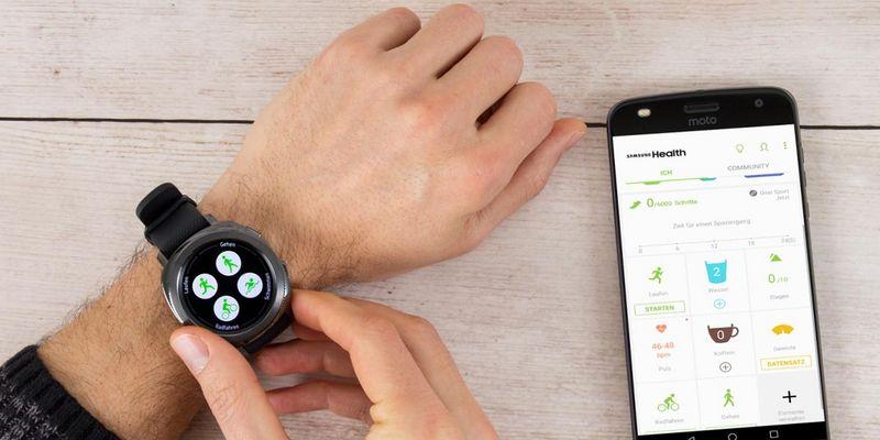 Sport-Alleskönner: Samsung Gear Sport.