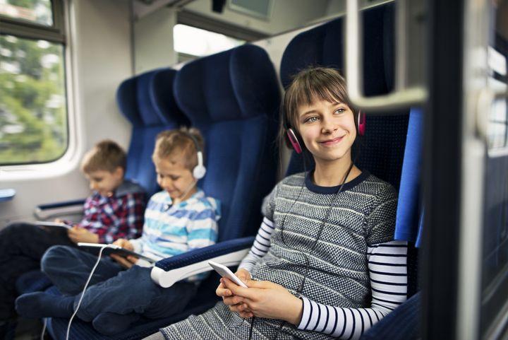 So werden auch lange Zugreisen zum Vergnügen.