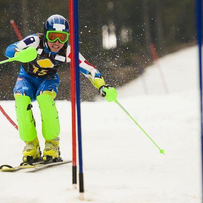 Wengen Slalom Läufer 2. Durchgang