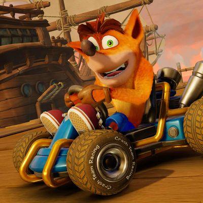 Crash Bandicoot, seine Freunde und auch Widersacher rasen wieder über den Bildschirm.