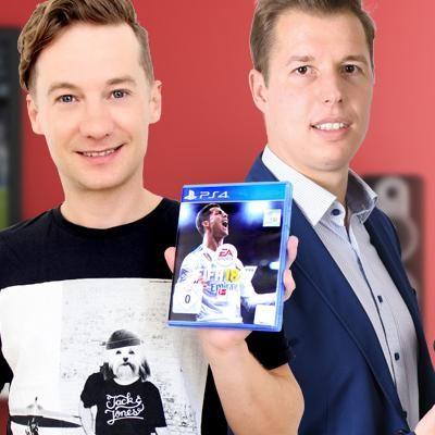 """Der Ausprobierer spielt """"FIFA 18""""."""