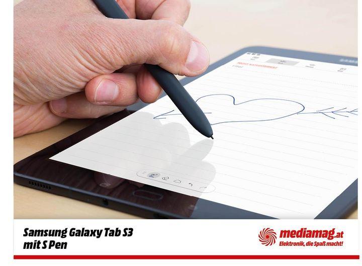"""Samsung """"Galaxy Tab S3"""": Spaßmacher für unterwegs."""