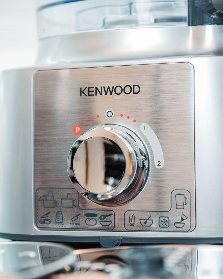 """Die Kenwood """"MultiPro Express"""" Küchenmaschine."""