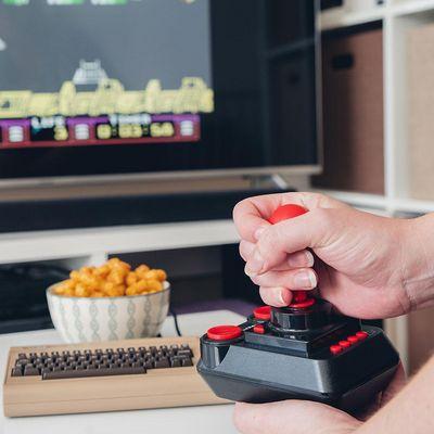 """""""The C64 Mini"""" ist ein Nostalgie-Gerät."""