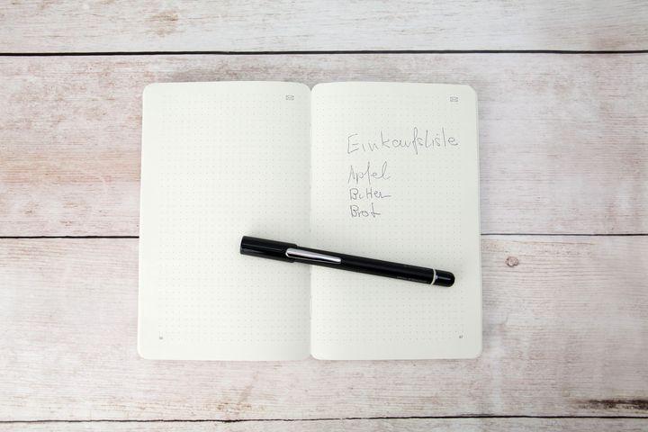 """Erst auf den zweiten Blick wird das """"Smart Writing Set"""" als echtes Hightech-Gadget erkannt."""