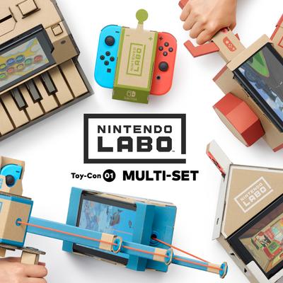 """""""Nintendo Labo"""" begeistert Klein und Groß."""