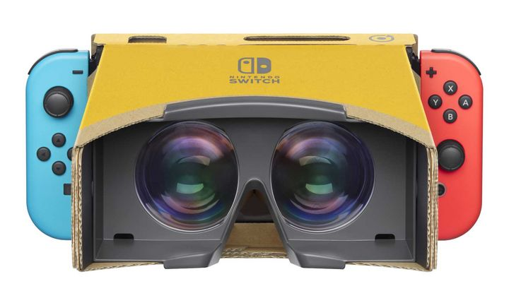 Nintendos VR-Gadget.