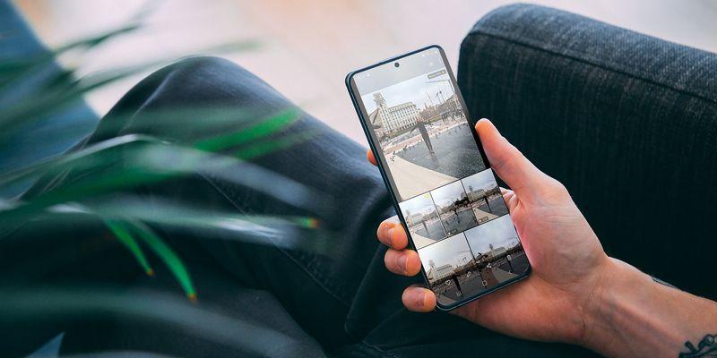 """Der """"Single Take""""-Modus des Samsung """"Galaxy S20""""."""