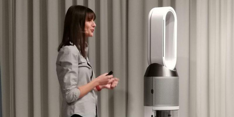 "Dyson stellt Luftbefeuchter ""Pure Humidify+Cool"" vor."
