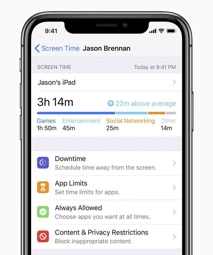 """Mit """"App Limits"""" kann man Erinnerungen setzen, sobald das selbstwählte Zeitlimit erreicht ist."""