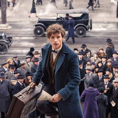 Newt Scamander (Eddie Redmayne) landet in New York.