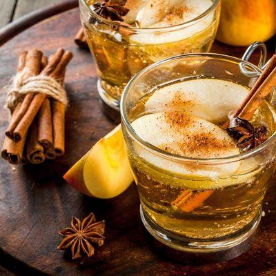 Apfelpunsch schmeckt auch ohne Alkohol.