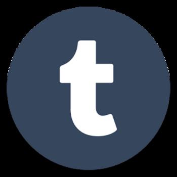 """""""Tumblr"""" ist eine Blog-App."""