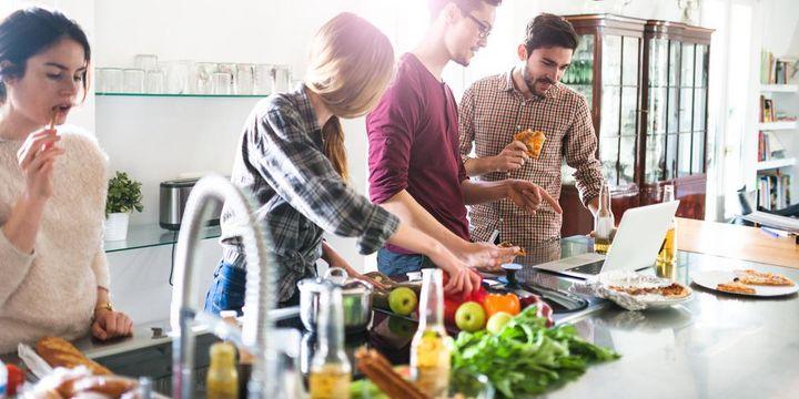 Kochen zählt zu den beliebtesten Tätigkeiten im Haushalt.