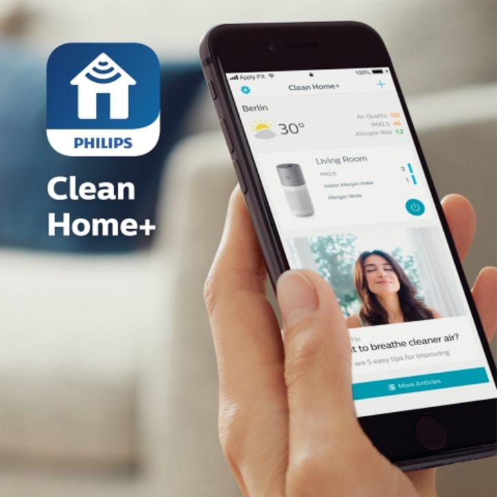 """Steuerung mit """"Clean Home+""""-App"""