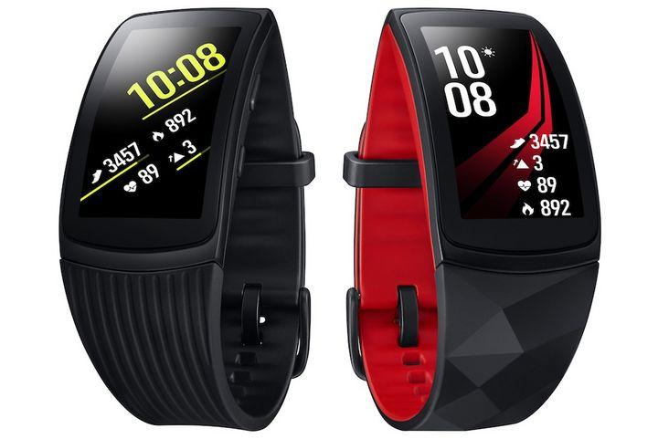 """Die """"Gear Fit2 Pro"""" von Samsung liegt im Trend."""