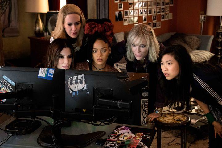 Die acht Frauen haben ein Ziel.