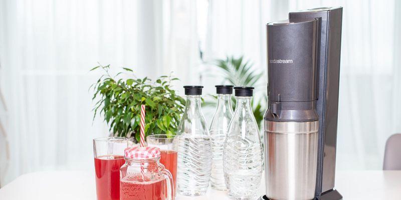 SodaStream hilft, Plastikmüll zu reduzieren.