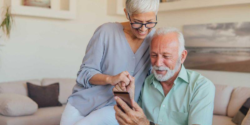 Smartphones für Senioren.