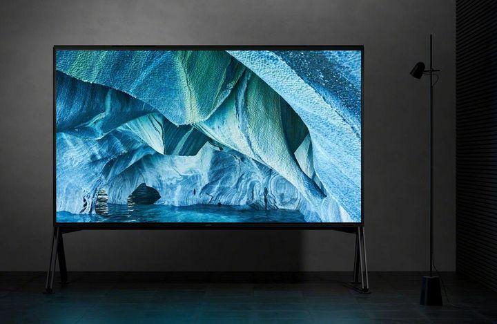XXL-Fernseher mit 8K von Sony.