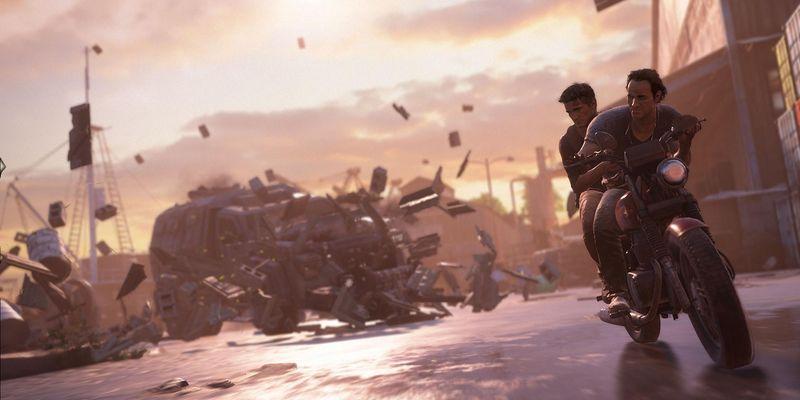 Uncharted 4 geizt nicht mit Effekten.