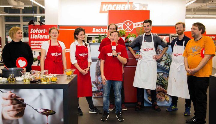 Zweite Auflage des MediaMarkt-Kochduells war ein voller Erfolg