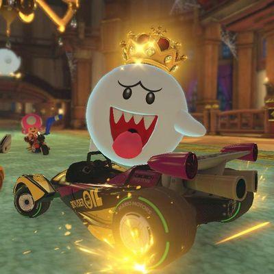 Mario rast aufs Smartphone.