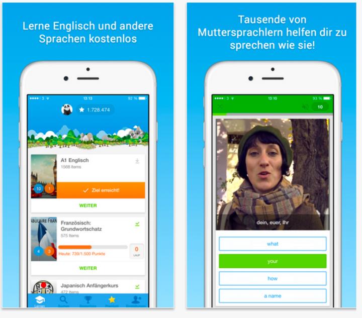 """Spielend leicht eine neue Sprache lernen mit """"Memrise""""."""