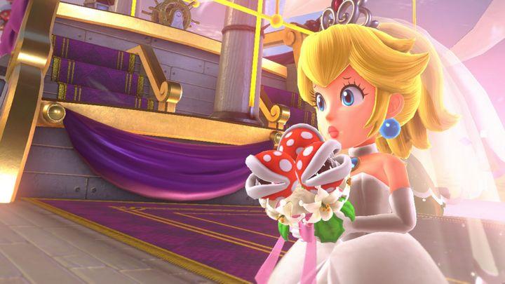 Prinzessin Peach muss wieder gerettet werden.