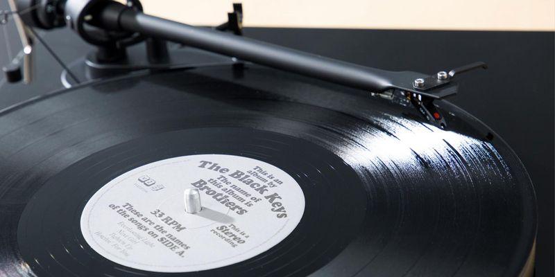 Platten-Allrounder: Debut III RecordMaster: