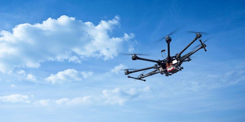 Das Arbeitsgerät der Drohnen-Fotografen.
