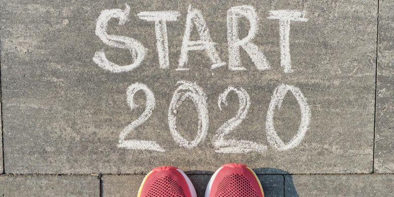 Gute Vorsätze für das Jahr 2020: Mehr Bewegung, öfter gesund essen.