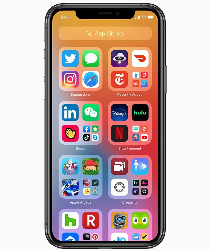 iOS 14: Die App-Mediathek