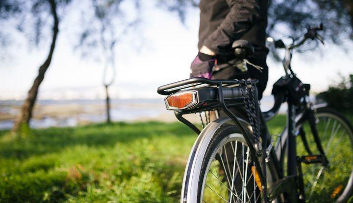 Ausflug mit dem E-Bike.