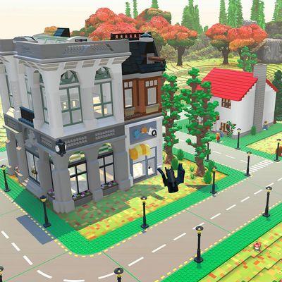 Bauen Sie Ihr eigenes Domizil in der Welt von Lego