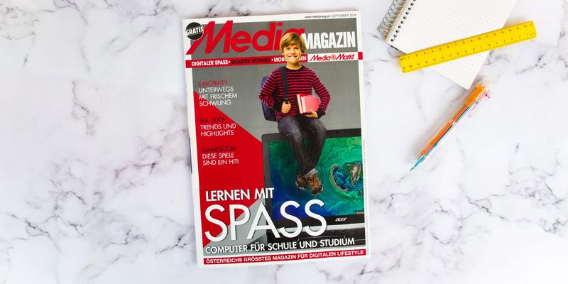 Das Mediamagazin im September 2018