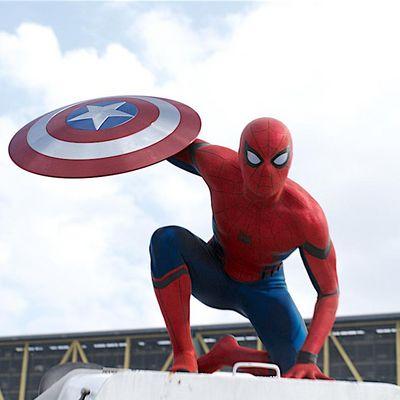 """Spider-Man"" in ""Captain America: Civil War"""