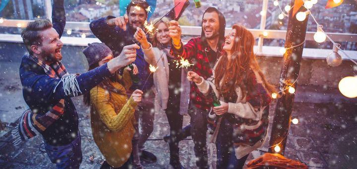 Silvester draußen feiern